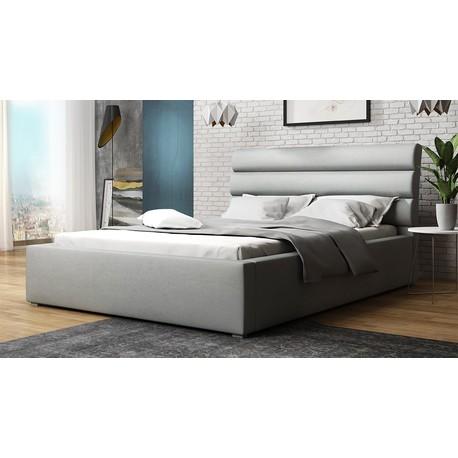 Čalouněná postel s rolovatelným roštem Exorim