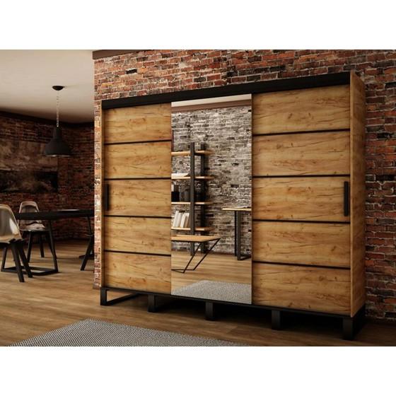 Šatní skříň Willow V2 250cm