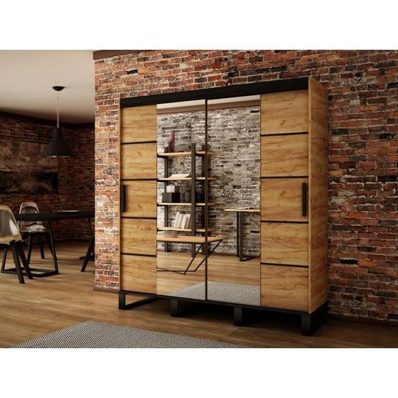 Šatní skříň Willow V4 200cm