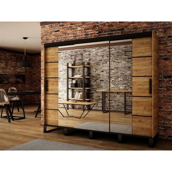 Šatní skříň Willow V4 250cm