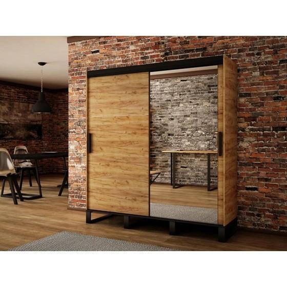 Šatní skříň Willow T2 200cm