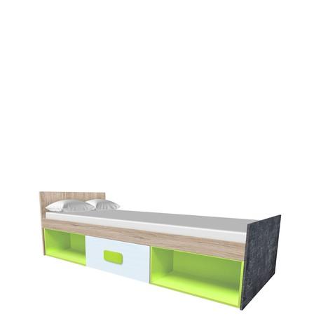 Jednolůžkova postel Gobi G12