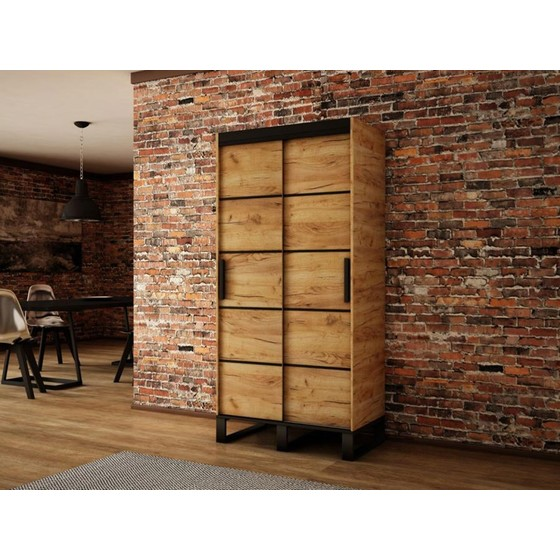 Šatní skříň Willow V1 100 cm