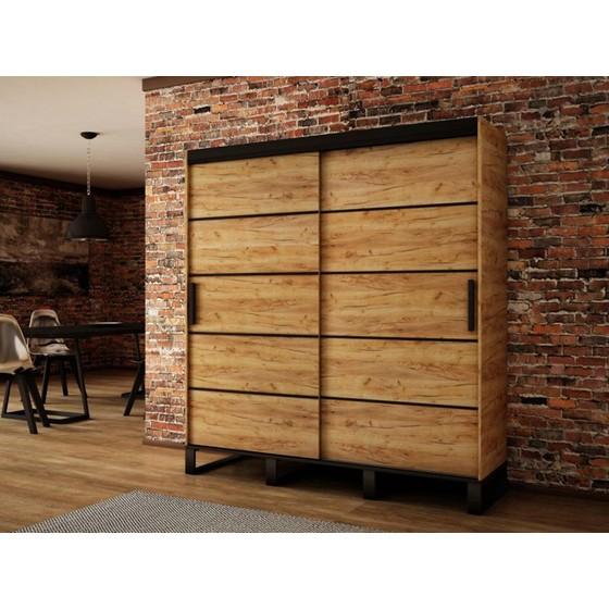 Šatní skříň Willow V1 200 cm