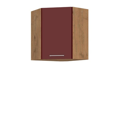 Horní rohová kuchyňská skříň Woodline 58x58 GN-72 1F