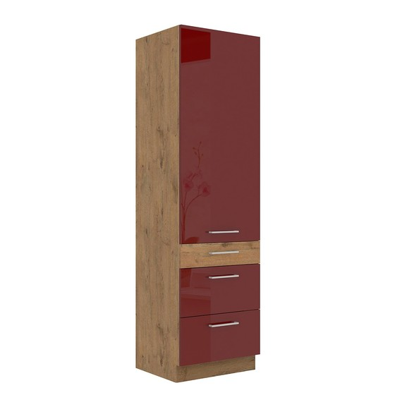 Kuchyňská skříňka se zásuvkami Woodline 60 DKS-210 3S 1F