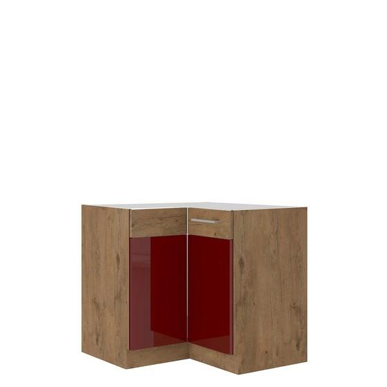 Spodní rohová kuchyňská skříňka Woodline 89x89 DN 1F BB