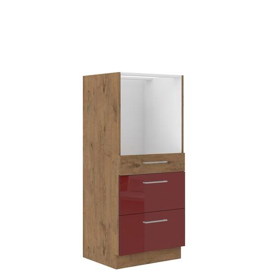 Kuchyňská linka pod troubou se zásuvkami Woodline 60 DPS-145 3S BB