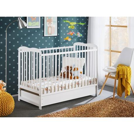 Dětská postel s matrací Prowansja II Plus 120x60