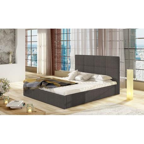 Čalouněná postel Atenso s úložním prostorem