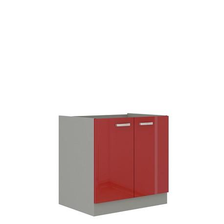 Kuchyňská skříňka pod dřezem Multiline 80 ZL 2F BB
