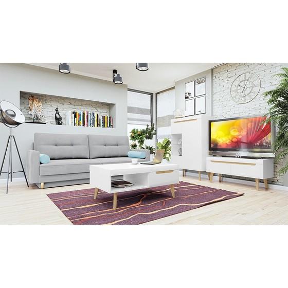 Sada nábytku do obývacího pokoje Nirus V + Pohovka Mosol