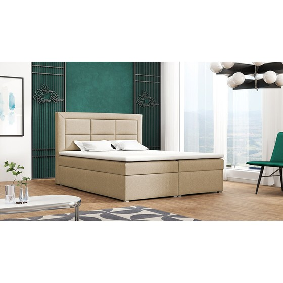Kontinentální postel Pesto Box