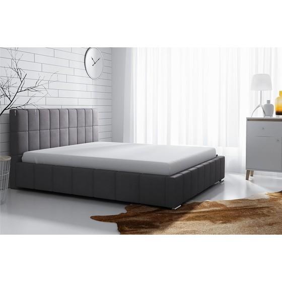Čalouněná postel s úložným prostorem Ninjago