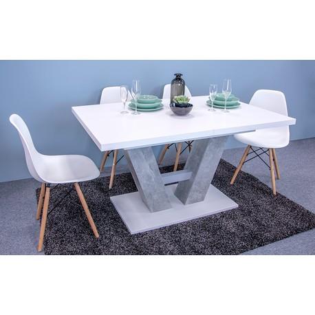 Moderní stůl Concrete 5002234 BEB + 4x židle Betty
