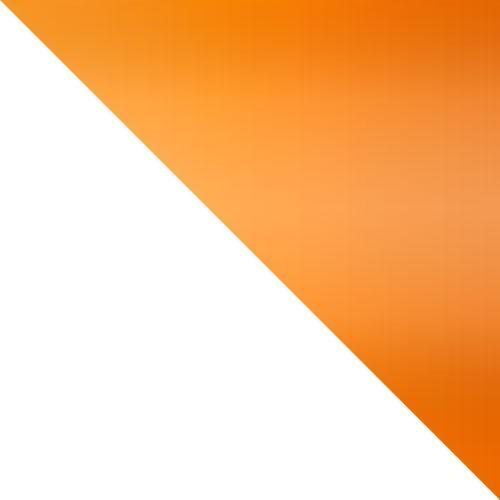 bílá / oranžový lesk