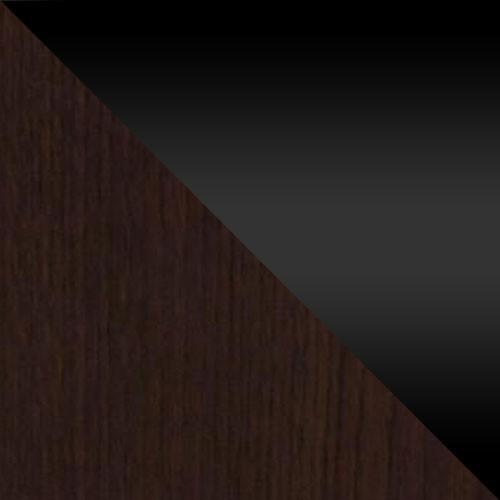 wenge / černý lesk