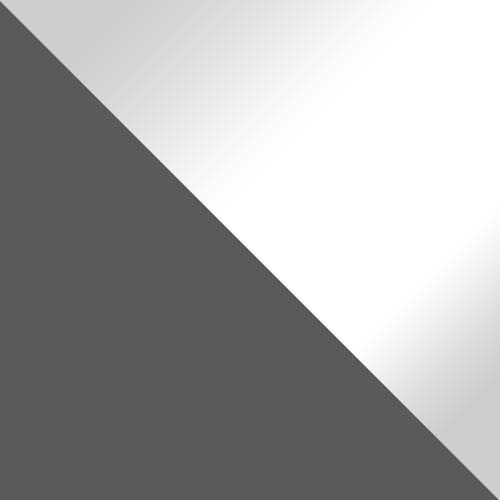 šedá / bílá lesk