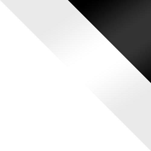 bílá / bílý lesk + černý