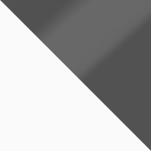 bílá / šedý lesk