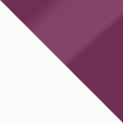 bílá / fialový lesk