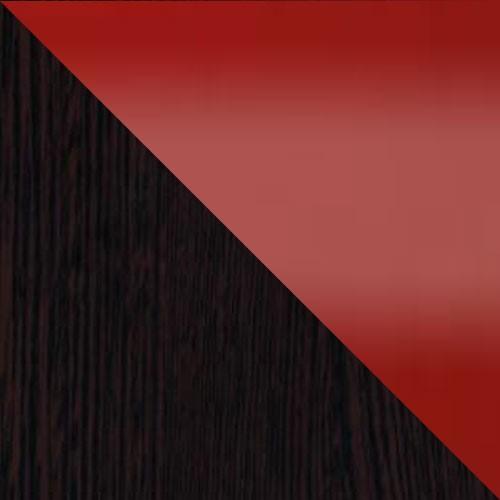 milano / červená lesklá