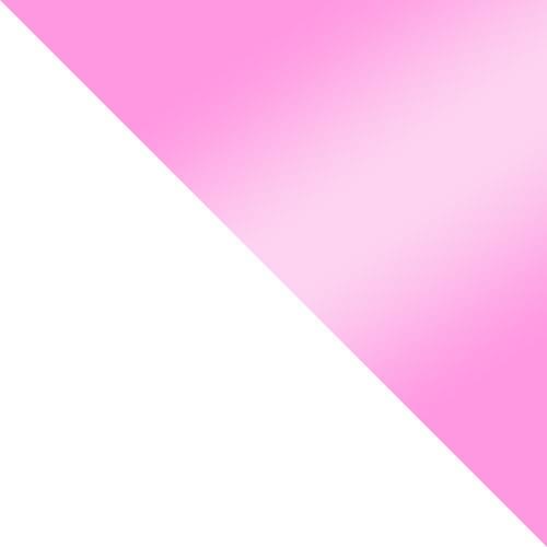 bílá / růžová lesk