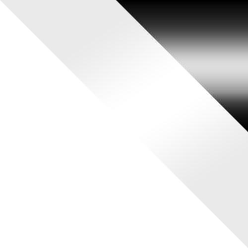 bílá / bílý lesk + černý lesk