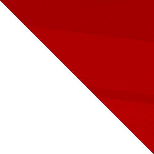 bílá / červený lesk
