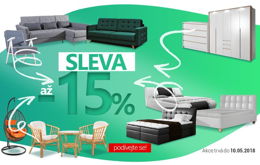 SLEVA AŽ -15%