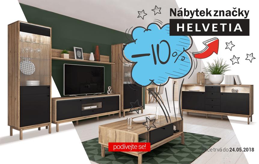 Nábytek značky Helvetia – 10%