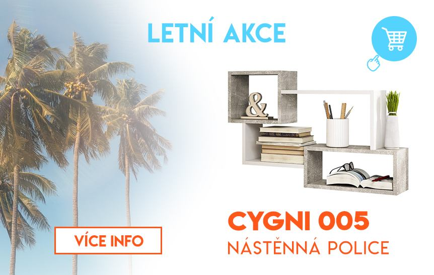 Nástěnná police Cygni 005
